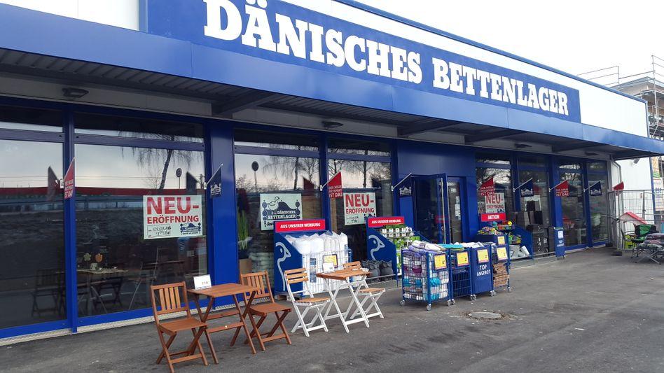 Filiale des Dänischen Bettenlagers in Donaueschingen