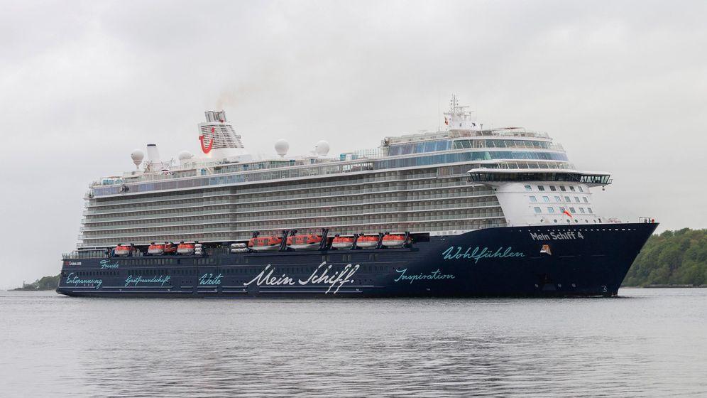 """Kreuzfahrtriese: An Bord der """"Mein Schiff 4"""""""