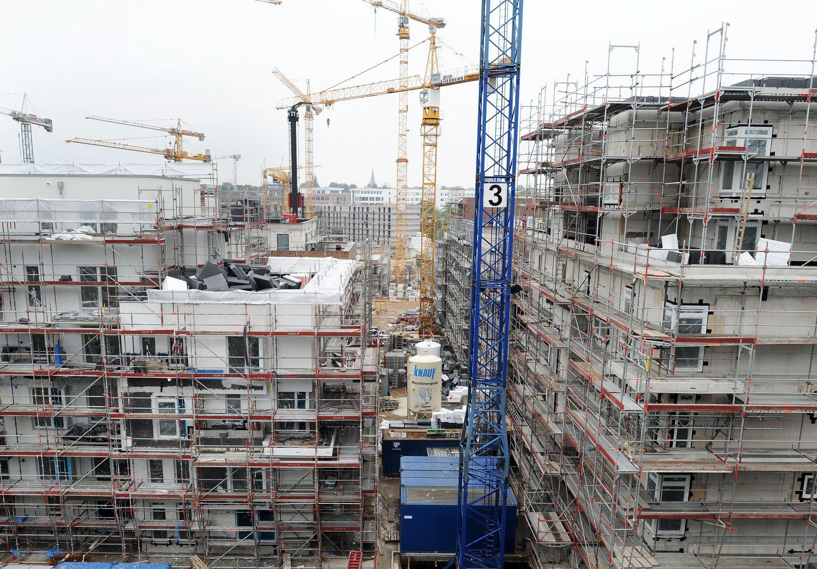 Immobilien / Immobilienmarkt / Wohnungsbau in Hamburg