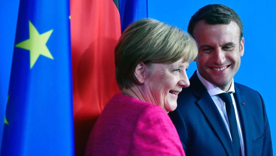 Sie und er am 15. Mai 2017 in Berlin.