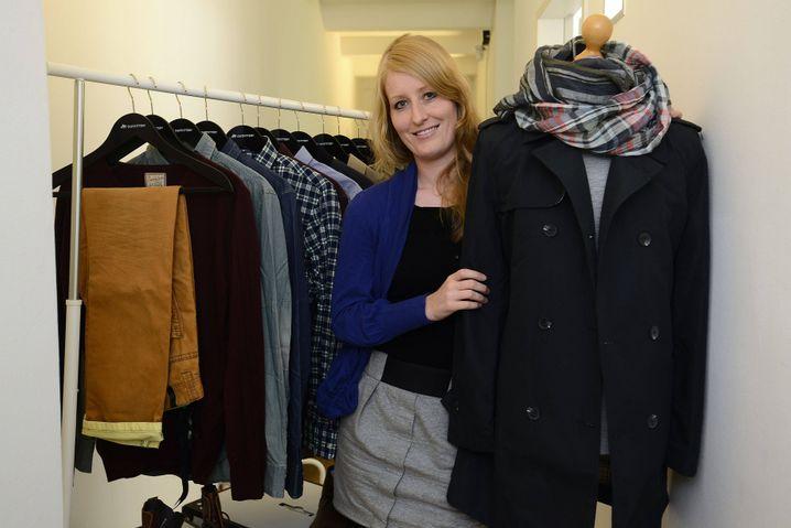 Start-up-Gründerin Julia Bösch, Chefin des Modeversenders Outfittery.