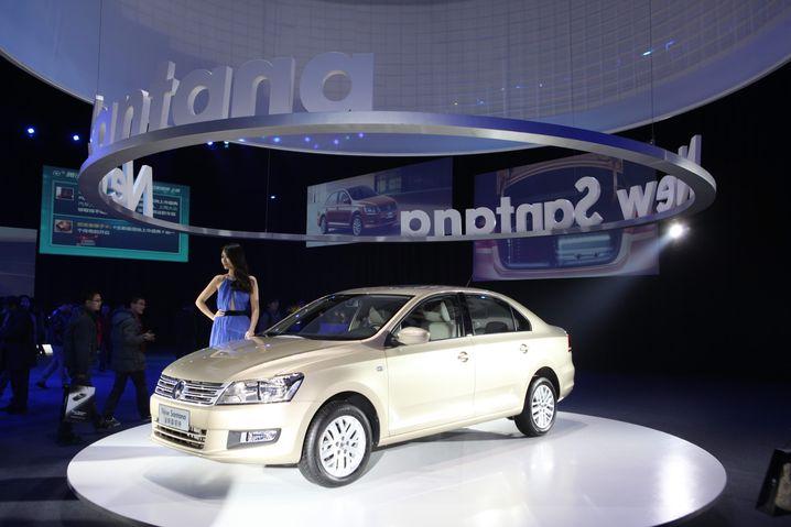 Neuauflage des VW Santana: In China eines von VWs Erfolgsmodellen
