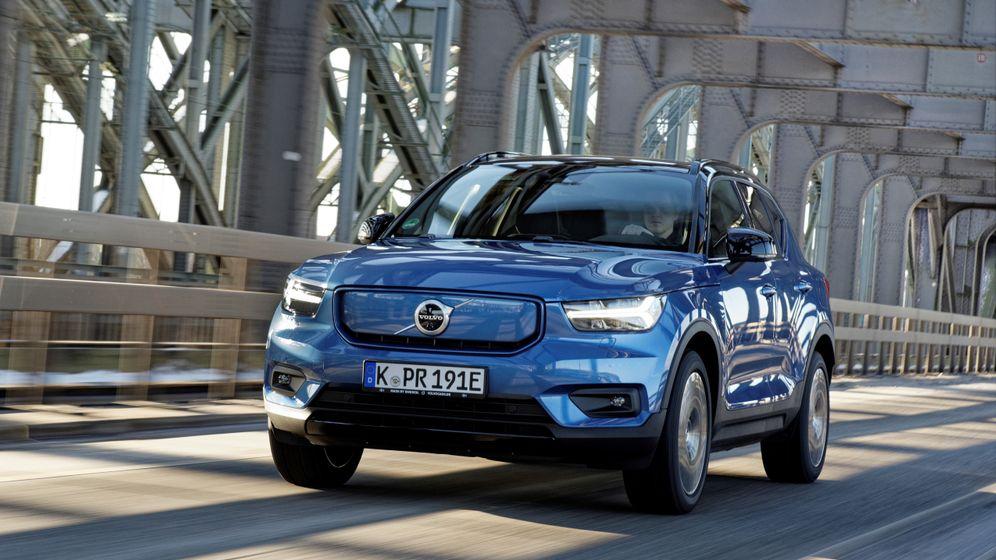 Schweden-Design trifft Google: Volvo XC40 Recharge Pure Electric in Bildern