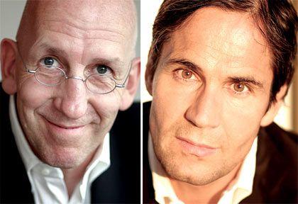 Agenturgründer: Holger Jung (l.) und Jean-Remy von Matt