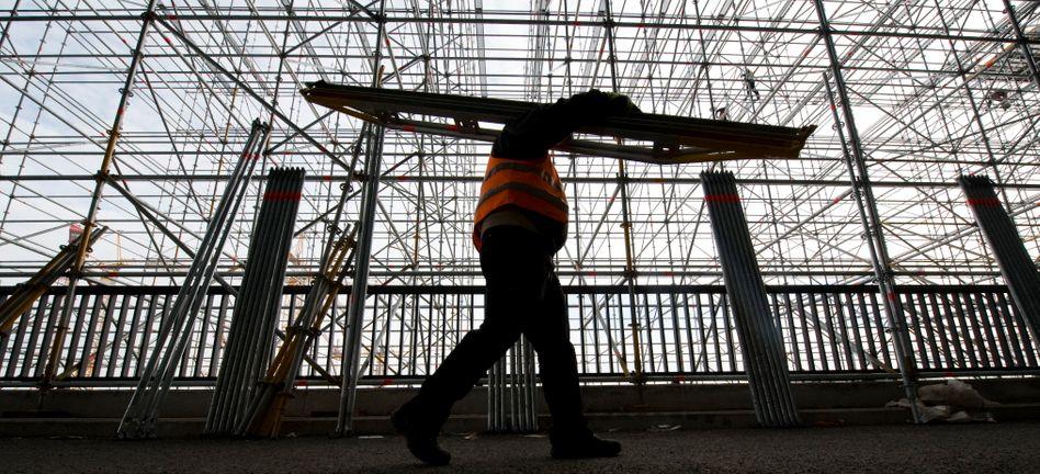 Bauindustrie: Rücksetzer nach beendetem Winteraufholprozess
