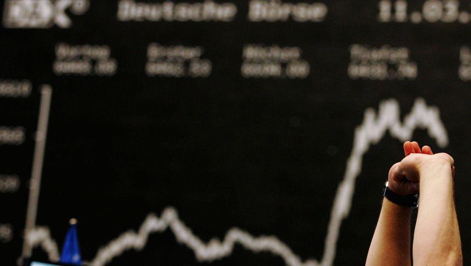 Entspannung an der Börse: Bei den Finanzprofis überwiegt vorweihnachtlicher Optimismus