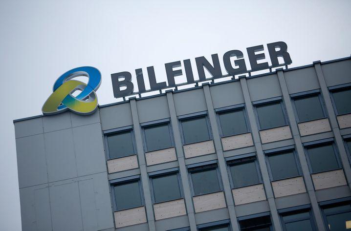 Bilfinger-Zentrale in Mannheim: Compliance Monitor Mark Livschitz möchte nicht im Bild gezeigt werden