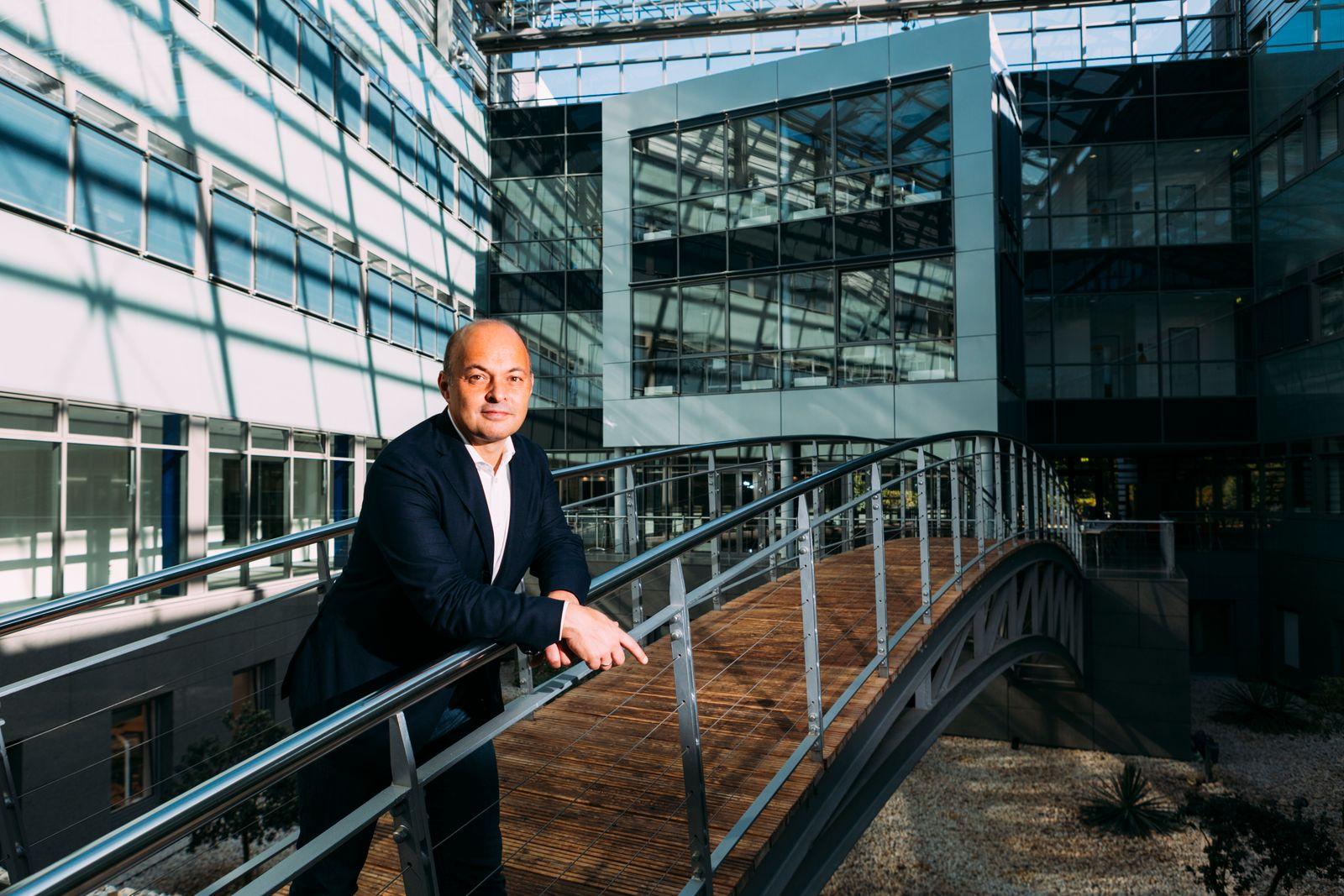 Manager Werner Lanthaler Evotec AG