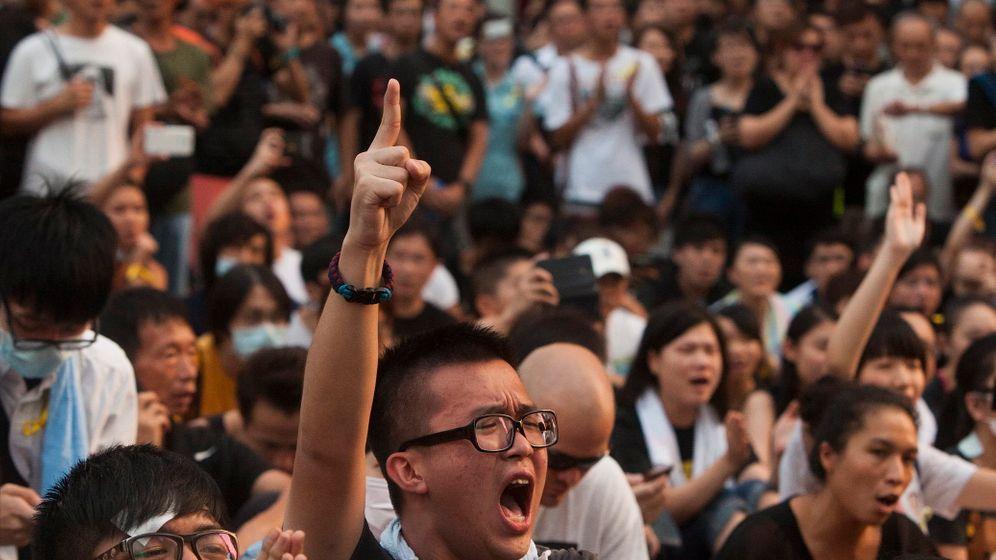 Proteste in Hongkong: Finanzdistrikt lahm gelegt