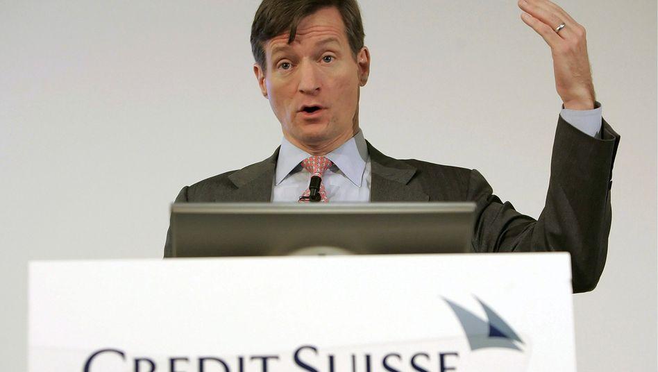 Brady Dougan: Der Credit-Suisse-Chef verdiente binnen drei Jahren knapp 28 Millionen Euro