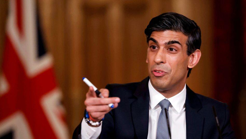 """""""Offener, grüner und technologisch fortschrittlicher"""": So soll der britische Finanzsektor nach Meinung des britischen Finanzministers Rishi Sunak durch eine Digitalwährung werden"""