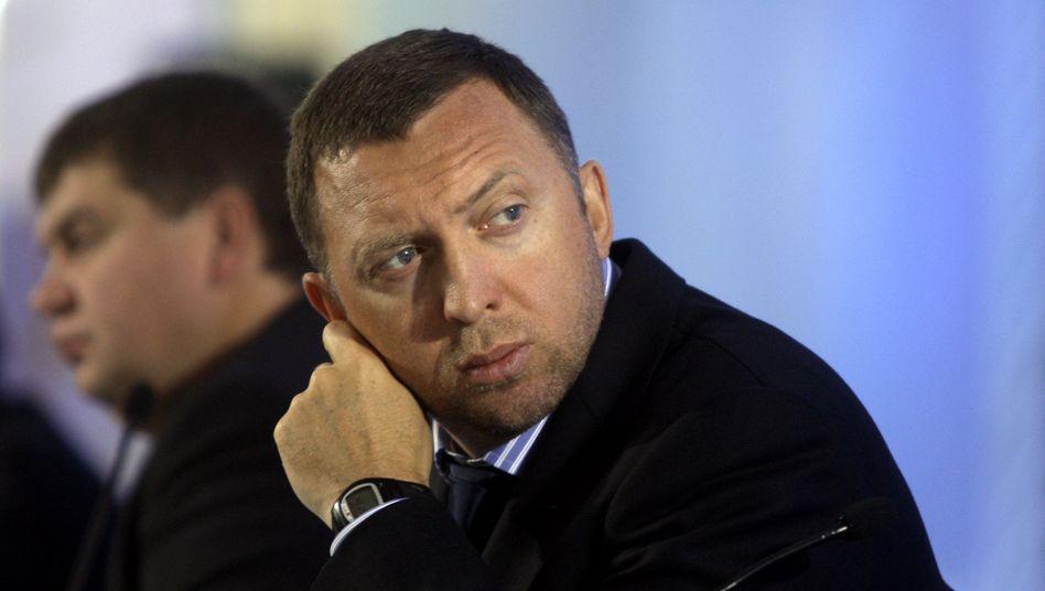 Wegen Sanktionen deutlich weniger reich: Oleg Deripaska