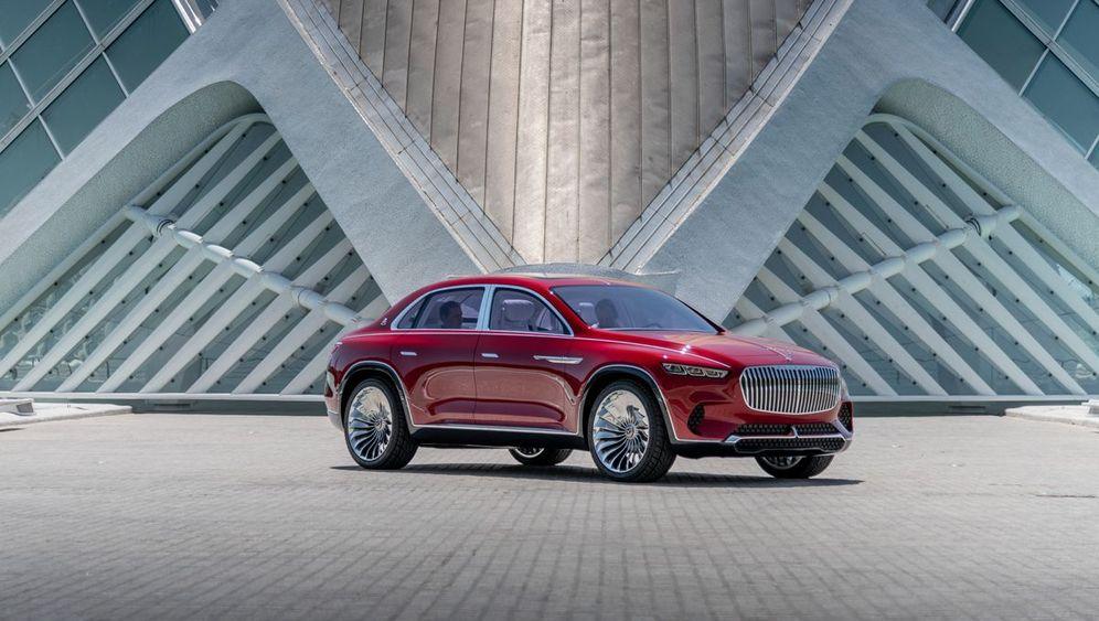 Mercedes Maybach SUV-Studie: Mehr Luxus geht nicht