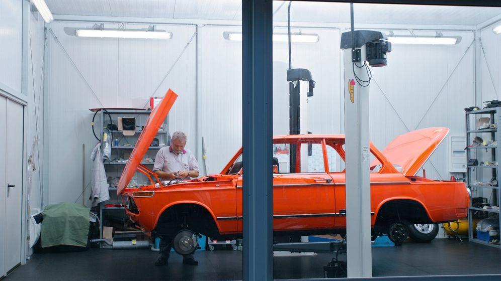 Oldtimer: Der Ersatzteilservice der Autobauer