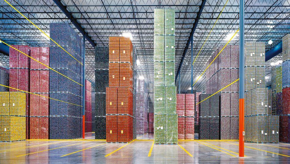 Der Hamburger Fotograf Christoph Morlinghaus beschäftigt sich in seiner Arbeit mit Räumen und Architektur. Die ausgewählten Fotos stammen aus Logistikzentren und Produktionsstätten in Kalifornien und Deutschland.