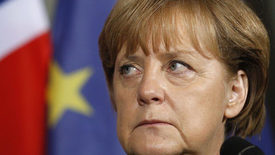 Fährt relativ kompromisslos nach Brüssel: Bundeskanzlerin Merkel