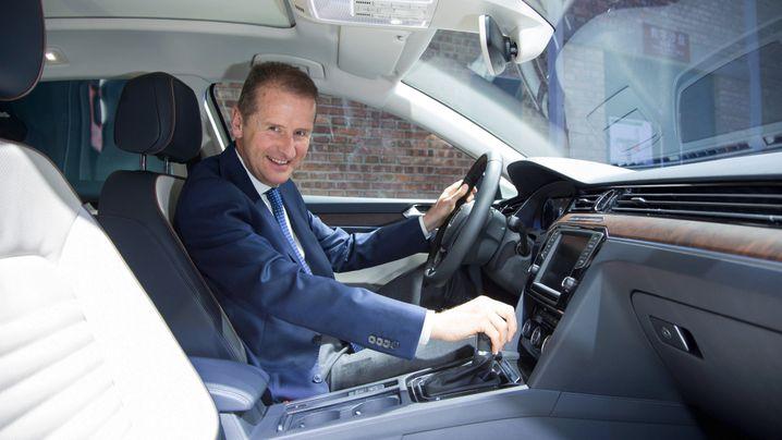 Der neue Boss in Wolfsburg: Herbert Diess' Weg an die Volkswagen-Spitze