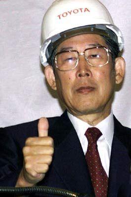 Signal zur Attacke: Toyota-Lenker Okuda