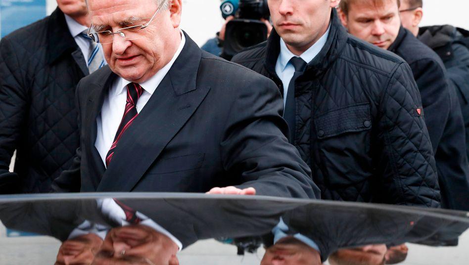 Dieselskandal: Der frühere Volkswagen-Chef Martin Winterkorn wird laut Medien von vier Kronzeugen belastet