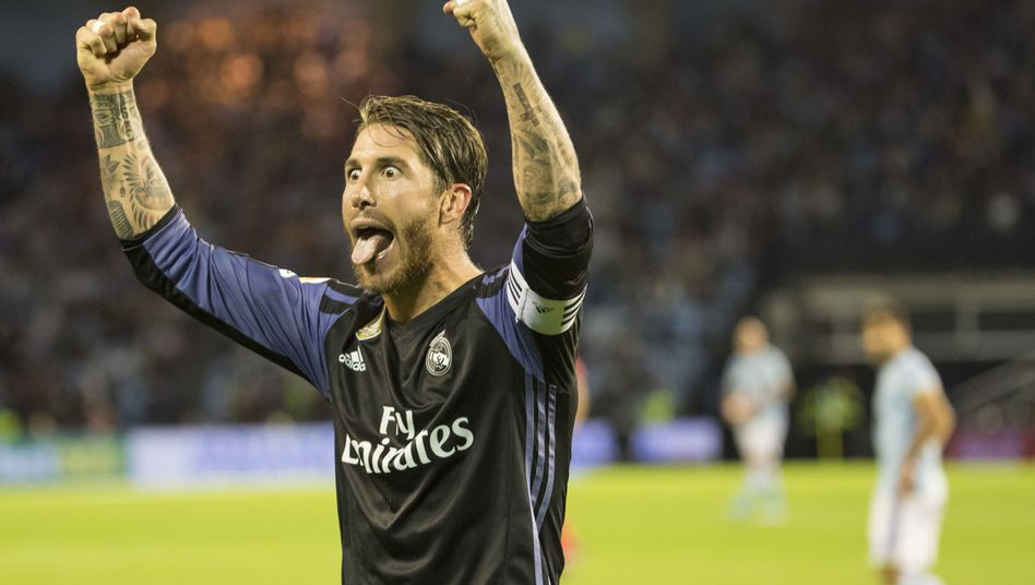Übler Treter: Real Madrids Sergio Ramos hält gerne mal drauf