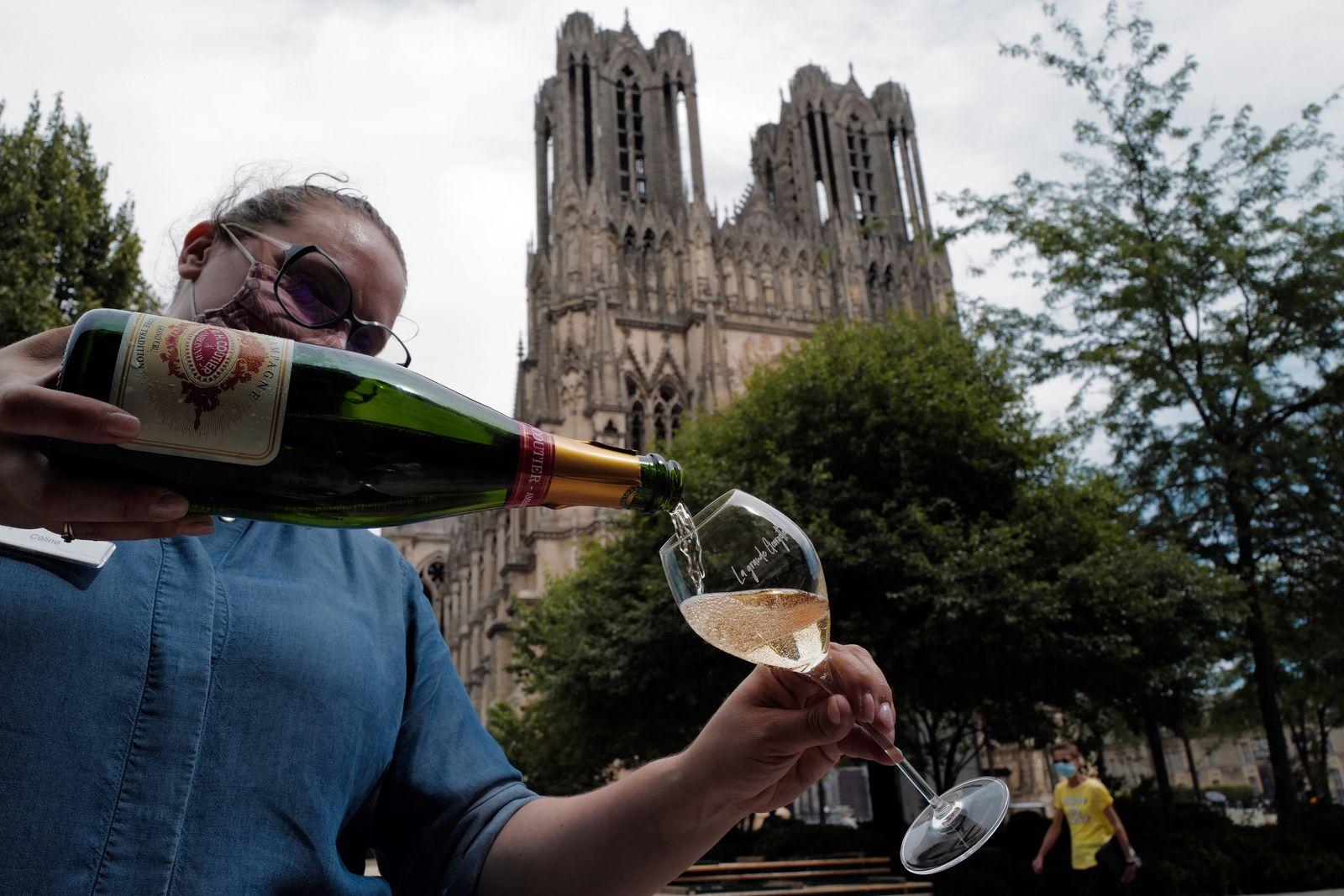 France Virus Outbreak Champagne