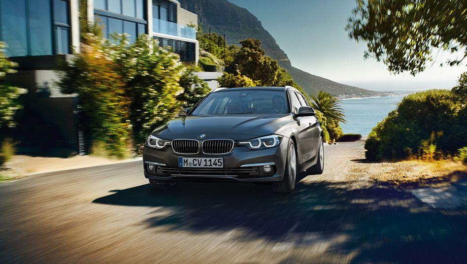 BMW 3er: Betroffen sind BMW der Reihen 3er, 4er, 5er, 6er, 7er, X3, X4, X5 und X6 mit Vierzylinder-Dieselmotoren, die zwischen April 2015 und September 2016 gebaut wurden