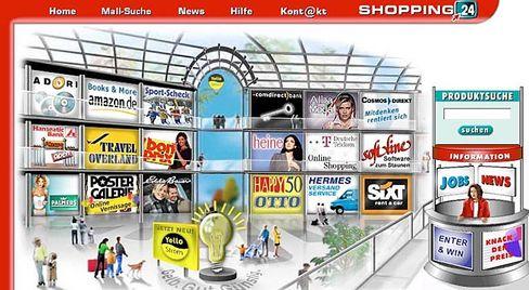 Kooperation: Otto versammelt 18 Web-Läden in seinem Shopping24-Center