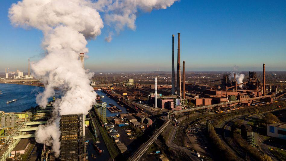 Heiße Luft? Die Landesregierung in NRW möchte Thyssenkrupp am liebsten mit der Salzgitter AG verschmelzen.