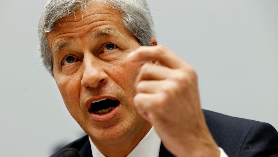 JPMorgan-Chef James Dimon: Die jahrelange Marktmanipulation kommt die Bank teuer