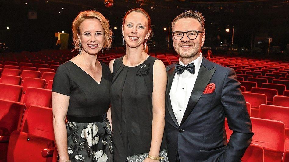 Dreisamkeit: Julia Becker (l.), Nora Marx und Niklas Wilcke