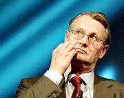 """""""Konzentration auf unser Kerngeschäft."""" Ericsson-Chef Kurt Hellstroem"""