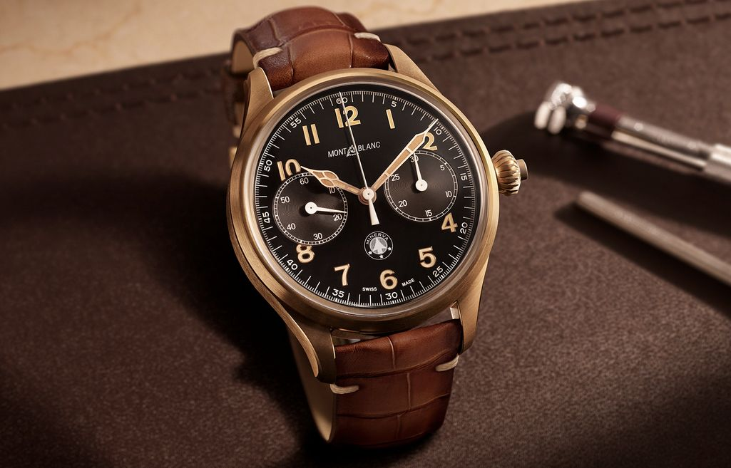 SIHH | Watches and Wonders | Montblanc 1858 Monopusher Chronograph Origins Limited Edition 100