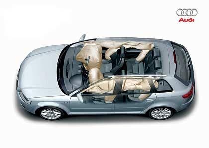 Rundherum gesichert: Airbags beim Audi A3