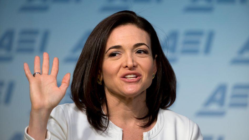 """""""Strategisch ein großer Deal"""": Facebook-COO Sheryl Sandberg"""
