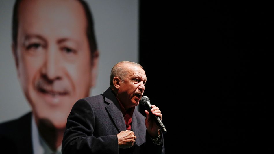 Recep Tayyip Erdogan macht Währungsspekulanten für Lira-Verluste verantwortlich