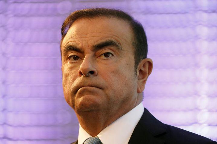 Ex-Renault-Chef Carlos Ghosn sitzt seit 19. November in Japan in Haft.