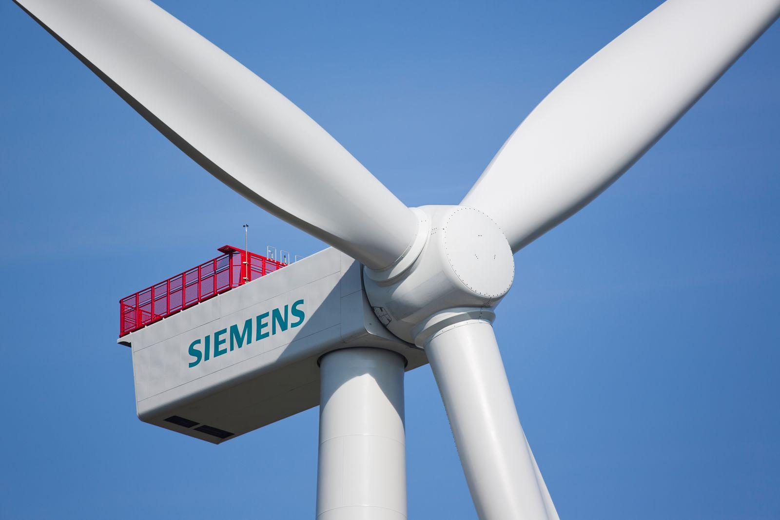 Siemens 4-Megawatt-Windturbine