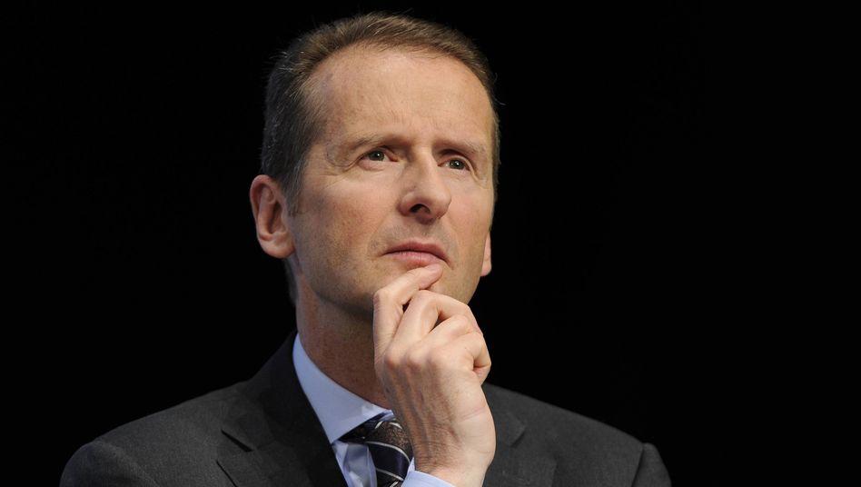 """Herbert Diess: """"VW muss anständiger werden!"""""""