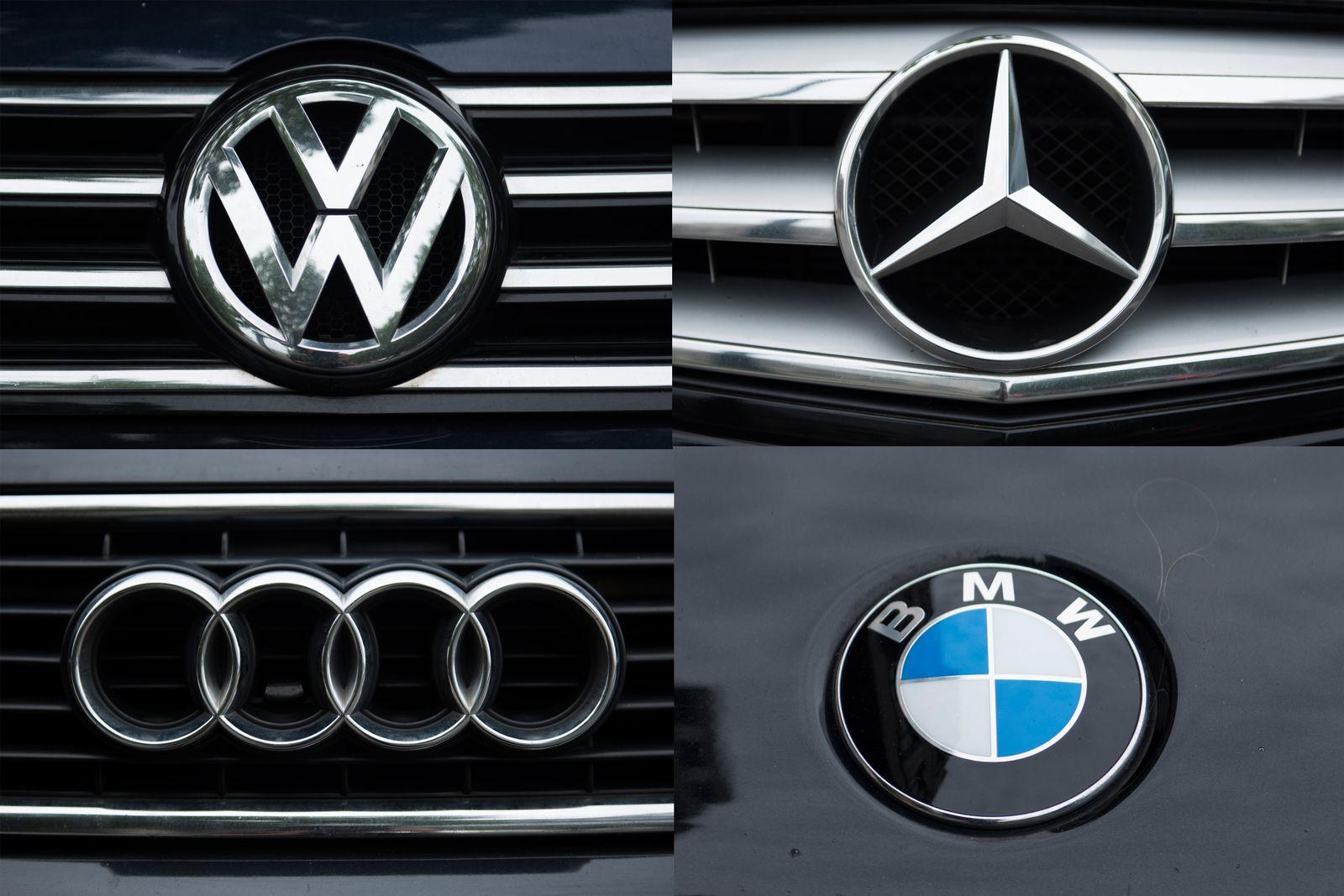 Automarken Logos Kombo
