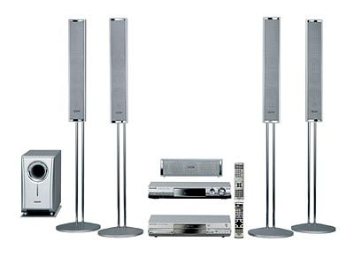 Panasonic SC-HT37REG-S: Das System mit Receiver und DVD Videorecorder ermöglicht eine Aufnahme von bis zu 6 Tagen