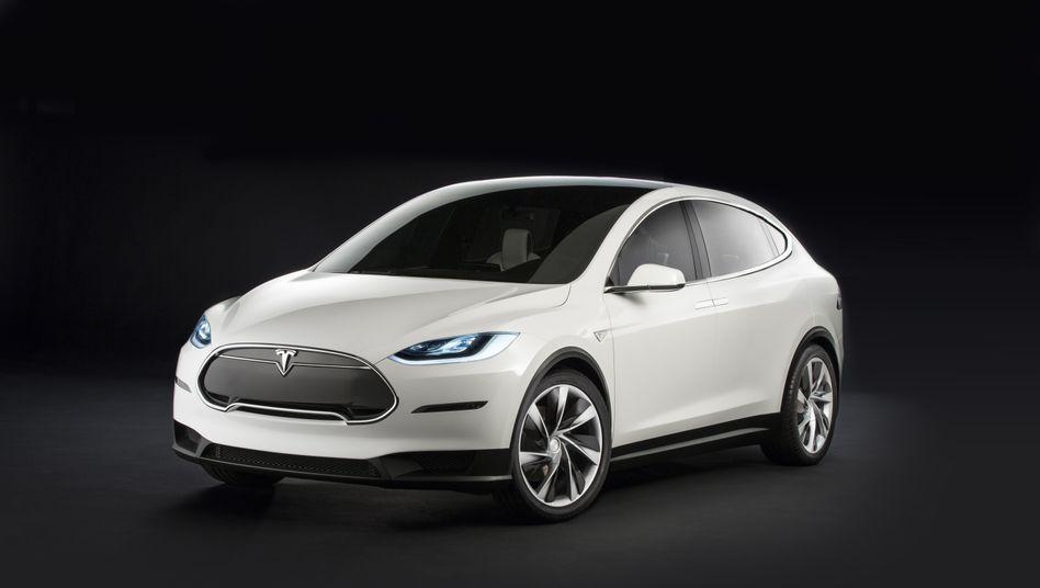 Model X: Der Geländewagen soll nach vielen Verzögerungen diesen Sommer auf den Markt kommen