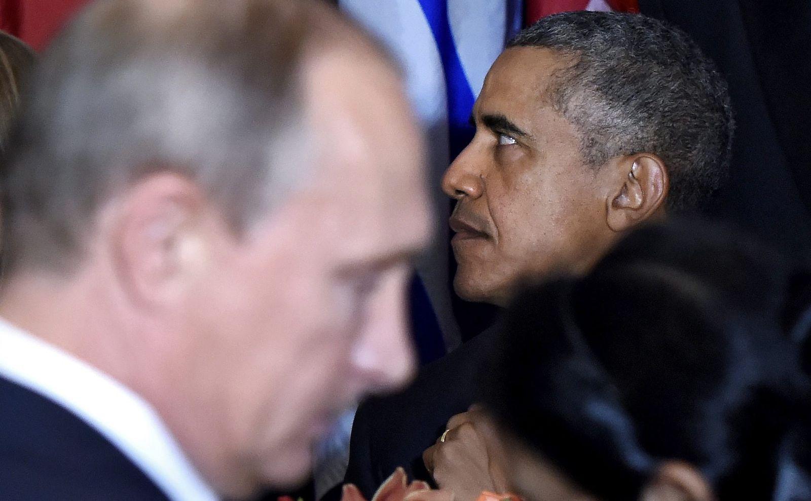 Wladimir Putin/ Barack Obama