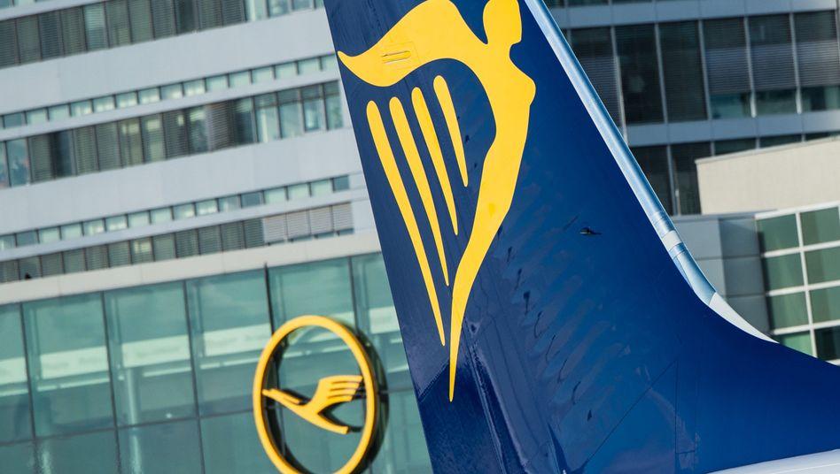 Wechsel an der Spitze: Ryanair hat die Lufthansa als größte Fluggesellschaft Europas überholt - zumindest mit Blick auf die Passagierzahlen