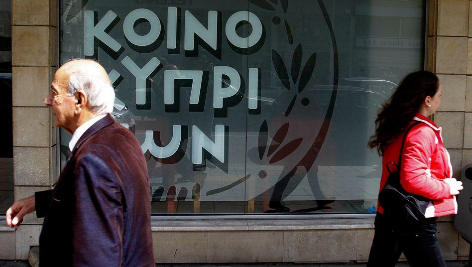 In der Rezession: Zypern leidet auch unter seinen engen Beziehungen zu Griechenland