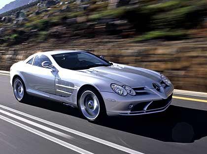Mercedes SLR: Der schnellste und stärkste der neuen Boliden