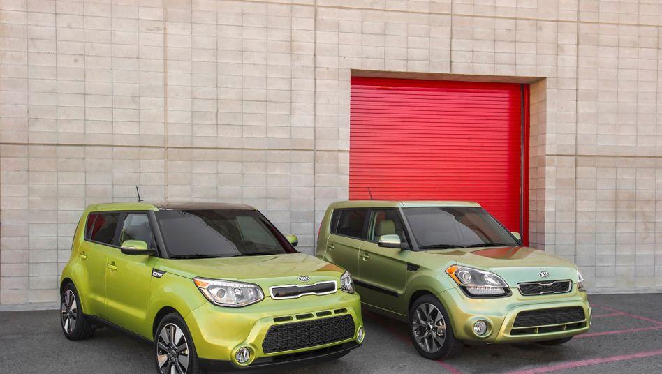 Kia Soul: Nach Untersuchungen der Umweltbehörde korrigierte der Hyundai-Konzern 2012 die Reichweitenangabe drastisch nach unten.