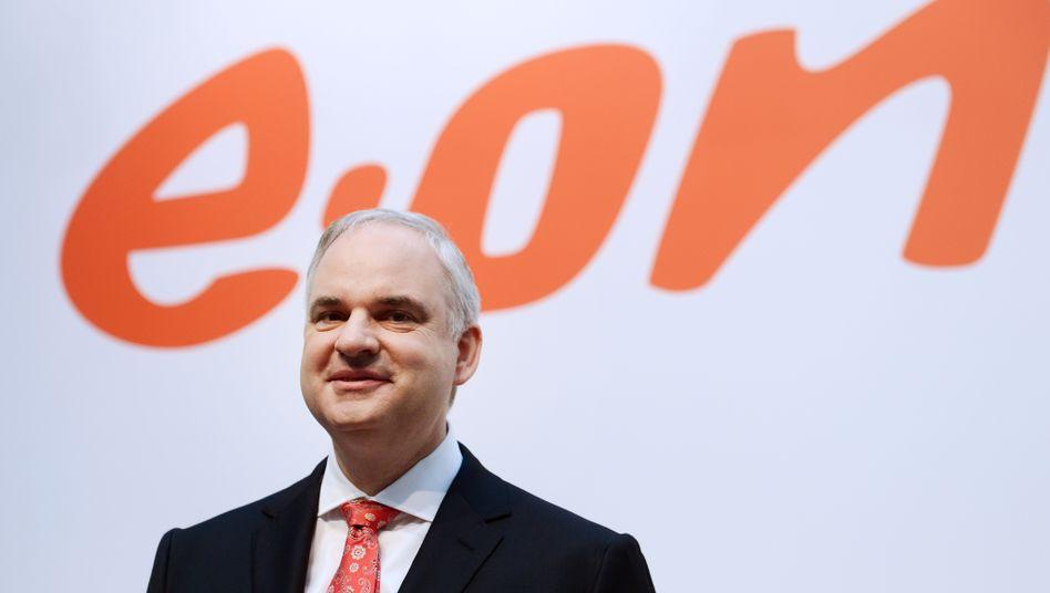 """Eon-Chef Johannes Teyssen betont den """"nachhaltigen Konzernüberschuss"""""""