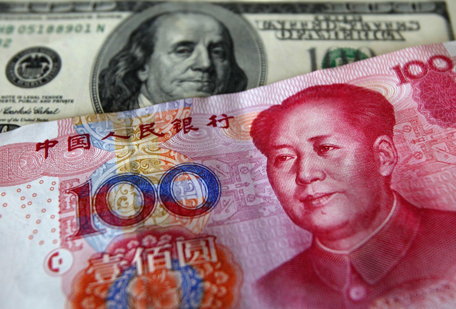 Yuan / Renminbi / US-Dollar / Dollar
