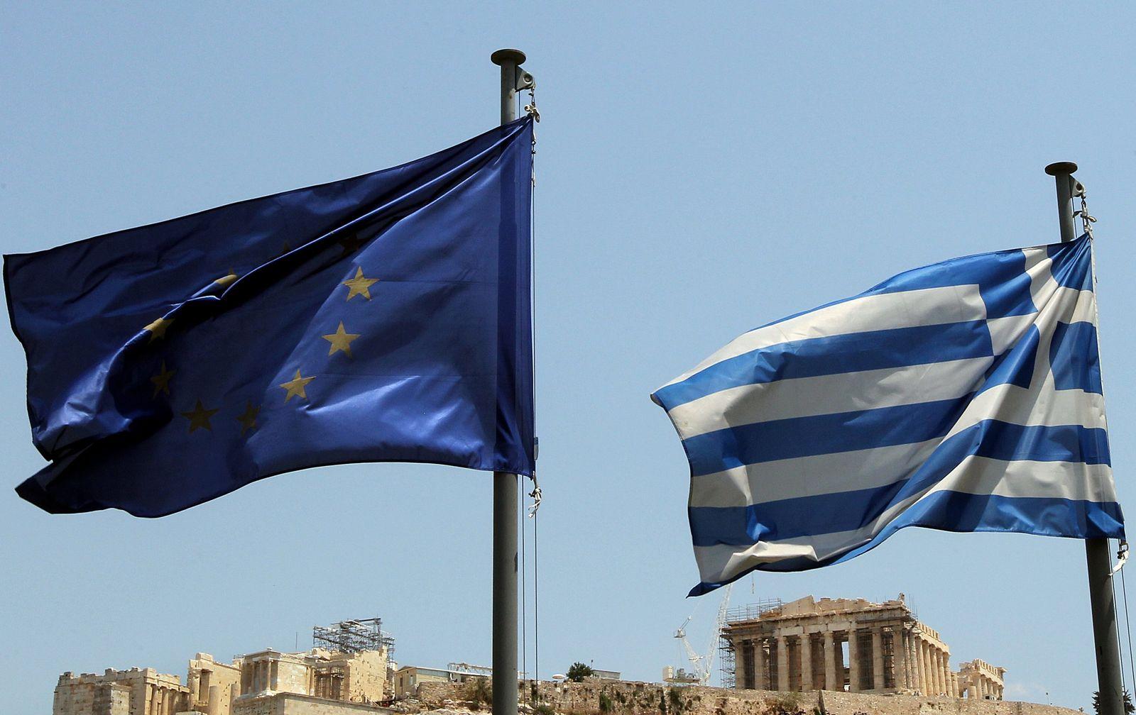Griechenland/ Flaggen