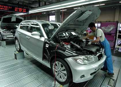 Deutschland als Premium-Standort: BMW-Produktion
